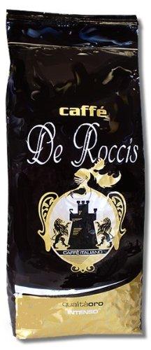 Caffe De Roccis Qualita Oro Crema Bar, 1000g Bohnen