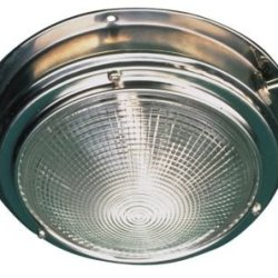 Sea-Dog Line Dome Light, Stainless Dome Light-5In Lens
