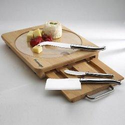 Jean Dubost Laguiole Cheese Board Set