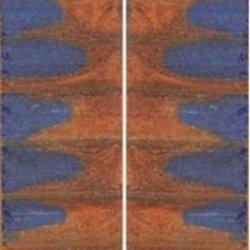 """Cobalt Canyon Genesis Acryl 2 Pc Mini Knife/Razor Scale 3/16""""X3/4""""X3"""" 300"""
