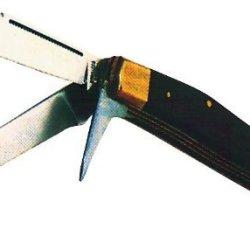 Folding Thinning Knife - -