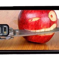 Hipster Samsung S5 Cases Buy Funny Apple Knife Pc Black For Samsung S5