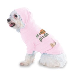 Get A Real Cat! Get A Sphynx Hooded (Hoody) T-Shirt With Pocket For Your Dog Or Cat Size Xs Lt Pink