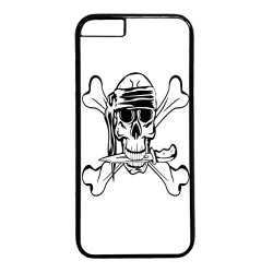 Skull Design Black Pc Iphone 6 Case Knife
