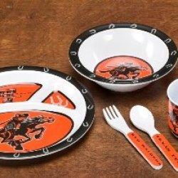 31027 - Texas Tech Red Raiders Kid'S 5 Pc. Dish Set