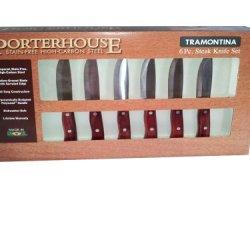 Tramontina 6-Piece Porterhouse Steak Knife Set