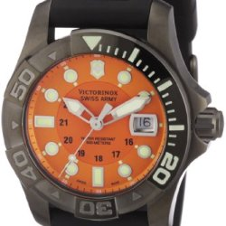 Victorinox Swiss Army Men'S 241428 Dive Master 500 Orange Dial Watch