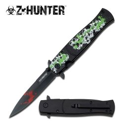 Z Hunter Zb-092Bs Spring Assisted Knife, 4.75-Inch Closed