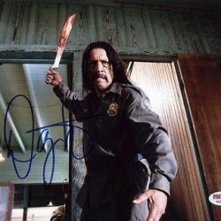 Danny Trejo Machete Kills Signed 8X10 Photo #X12061 - Psa/Dna Certifie