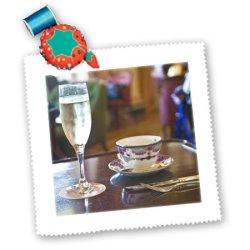 Qs_72636_2 Danita Delimont - Hotels - British Columbia, Victoria, Empress Hotel, Tea-Cn02 Dhr0036 - Davis Herbig - Quilt Squares - 6X6 Inch Quilt Square