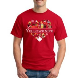 I Love Yellowknife, Canada Unisex T-Shirt-Medium