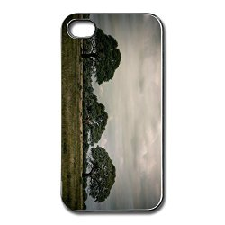 Blank Scratch Landscape Cell Phone 4 Cover