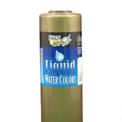 Handy Art By Rock Paint, 276-160, Washable Liquid Watercolor 1, Metallic Brass, 8-Ounce