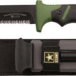U.S. Army A-2001Gn Fixed Blade Knife, 10.25-Inch, Green