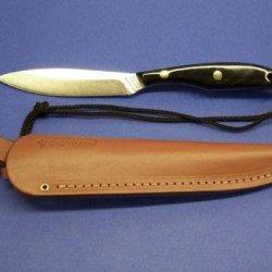Grohmann Knives Buffalo Horn Bird & Trout Stainless