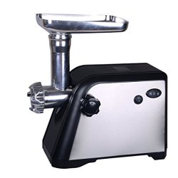 Homeleader® Electric Meat Grinder/Mincer With 3 Cutting Plates