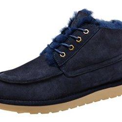 Rock Me Men'S Integr Ii Winter Fur Low Top Snow Boot(7 D(M) Us, Navy)