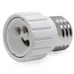 6 Pcs E26/E27 To Gu10 Adapter - E26/E27 Edison Screw To Gu10 Bayonet Base Socket Adapter Converter