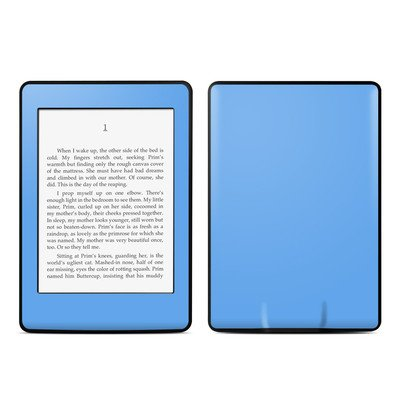 Amazon Kindle Paperwhite スキンシール【Solid State Blue】