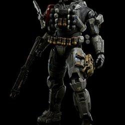 Halo Emile Spartan Lii 3Aaa Toys Statue