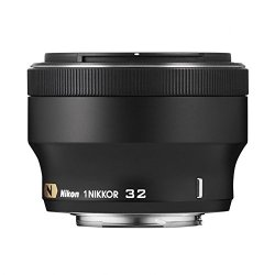 Nikon 1 Nikkor 32Mm F/1.2 (Black)