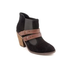 Kelsi Dagger Jalynn Womens Size 8.5 Black Suede Booties Shoes