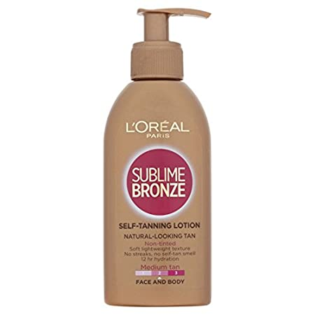 An innovation from the L'Oréal laboratories, Sublime Bronze is a self-tanning milk with a soothing effect, which gives the skin an ultra natural looking tan without orange streaks. First tan starts to appear only 1 hour after application it is even a...