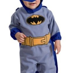Batman The Brave And The Bold Romper Blue Batman, Blue Print, Newborn
