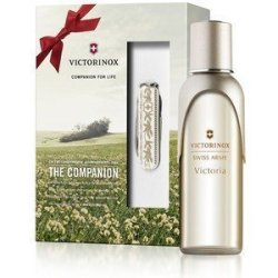 Victorinox Swiss Army Victoria Fragrance Gift Set 3.4 Fl.Oz 100 Ml.+Swiss Army Pocket Knife