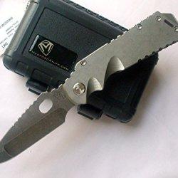 Medford Knife And Tool Arktika Folder Knife Tumbled Finish / Tumbled Oxide Blade