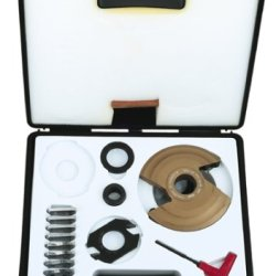 Freud Rp2000 Insert Knife Raised Panel Shaper Cutter Set, 1-1/4 Bore