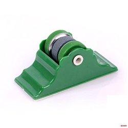 Handy Fixed Knife Grinder With Base Practical Rounded Knife Sharpener Household Quick Knife Sharpener-Color Random