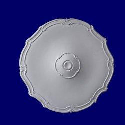 Gaudi Décor 19 Inch Ceiling Medallion Primed White Polyurethane Pumpeii #R313