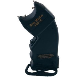 Stun Master Stun Gun 100,000 Volts Curved Stun Master Stun Gun 100,000 Volts Curved (Please See Shipping Restrictions Before Ordering)