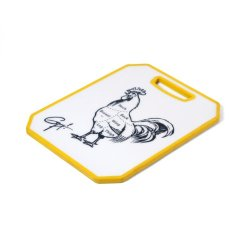 Guy Fieri Non Slip Cutting Board With Chicken Image, 11-Inch By 14-Inch