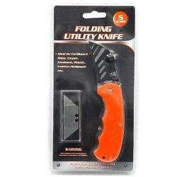 72 Pc Lot Utility Knife Folding Pocket Razor Blade Box Cutter Wholesale Bulk