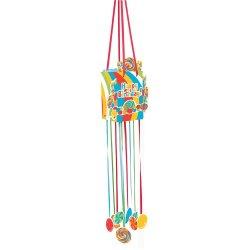 Creative Converting Paper Pinata With Pull String, Sugar Buzz