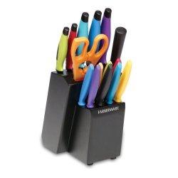 16 Piece Multicolor Cutlery Set