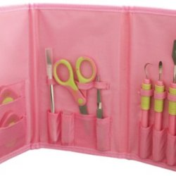 C-Gull Cgull Tool Kit, 9 By 5.5 By 1.5-Inch, Pink