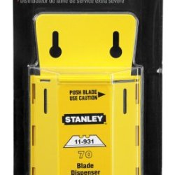 Stanley 11-931D 70 Pack Extra Heavy Duty Utility Blades With Dispenser