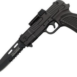 Tac Force Tf-790Bk Assisted Opening Folding Knife 4.5-Inch Closed