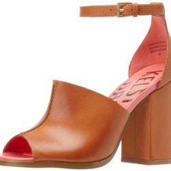 Kelsi Dagger Women'S Georgie Sandal,Luggage,5 M Us