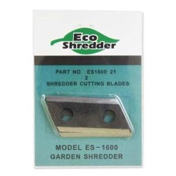 Eco-Shredder Es1600-21 Replacement Double Sided Cutting Blades For Es1600 Chipper/Shredder