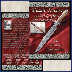 Mosaic Damascus With Ed Caffrey (Dvd)
