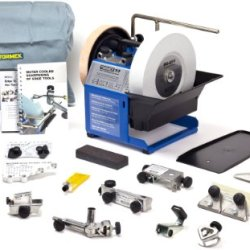 Tormek Tbm703 T-7 Water Cooled Sharpening System Magnum Bundle, Package Includes 13 Jigs And Accessories
