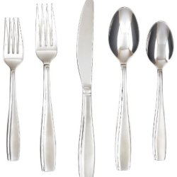 Farberware 45-Piece Allspice Sand Flatware Set