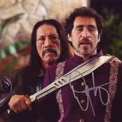 Danny Trejo Signed *Machete Kills* 8X10 Photo Machete Proof W/Coa