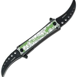 Z Hunter Zb-057Sk Spring Assisted Knife, 5.5-Inch Closed