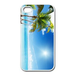 Unique Protection Tropical Beach Paradise Iphone 4 Cover