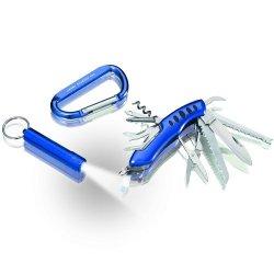 The Sharper Image 3-Piece Multitool Kit, Blue